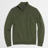 J.Crew Factory Chunky cotton half-zip pullover sweater