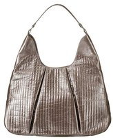 Xhilaration® Quilted Hobo Bag - Pewter