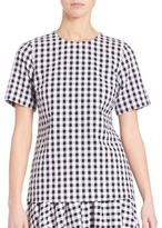 MICHAEL Michael Kors Gingham Top