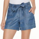 Apt. 9 Women's Chambray Soft Shorts