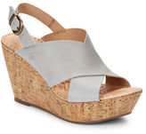Børn Emmy Leather Sandal Wedges