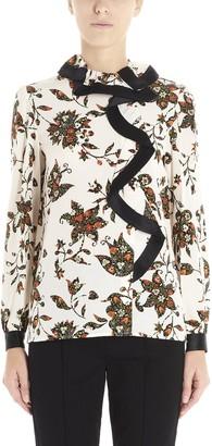 Tory Burch Flower Print Shirt