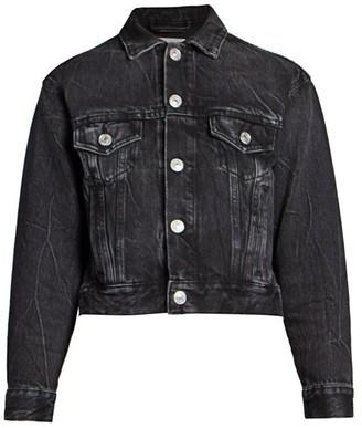 Balenciaga Shrunk Denim Jacket