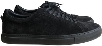 Givenchy Black Suede Trainers