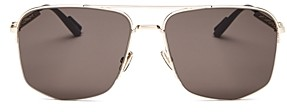 Christian Dior Men's Dior180 Brow Bar Aviator Sunglasses, 60mm