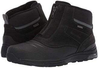 Dunham Trukka Waterproof Zip Boot (Black) Men's Boots