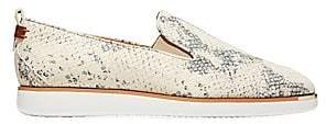 Cole Haan Women's Grand Ambition Slip-On Snakeskin-Embossed Leather Sneakers