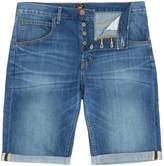Lee Slim Fit 5 Pocket Denim Turn Up Shorts