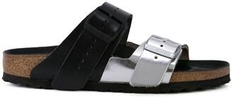 Rick Owens metallic buckle sliders