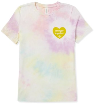 Kendra Scott Women's Stronger Together T-Shirt in Tie Dye