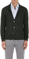 Barneys New York MEN'S VIRGIN WOOL CARDIGAN BLAZER