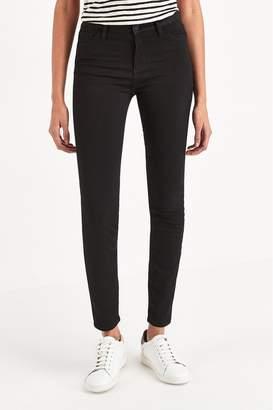 Armani Exchange Womens Black Super Skinny Jeans - Black