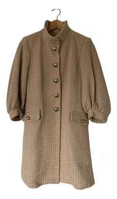 Milly Pink Wool Coats