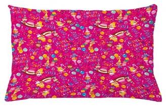 "East Urban Home Birthday Indoor / Outdoor Lumbar Pillow Cover Size: 16"" x 26"""
