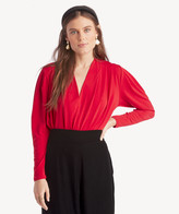 Astr Women's Maia Bodysuit In Color: Vibrant Red Size XS From Sole Society