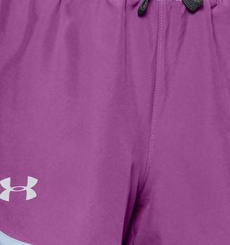 Under Armour Girls' UA Fast Lane Shorts
