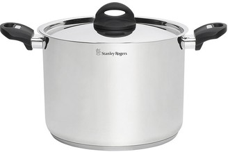 Stanley Rogers Induction Compatible Stainless Steel Stock Pot 8L/24cm