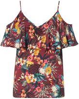 Biba Cold shoulder printed camisole
