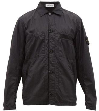 Stone Island Technical Seersucker Jacket - Mens - Black