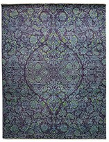 "Solo Rugs Suzani Collection Oriental Rug, 8'2"" x 10'7"""