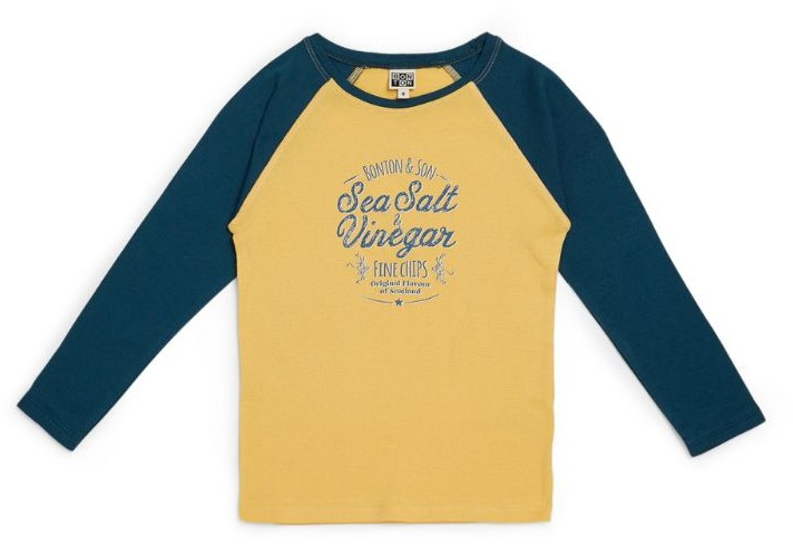 Bonton Raglan-Sleeve T-Shirt (4-12 Years)