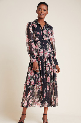 Bardot Nadia Tiered Maxi Dress By in Assorted Size XS