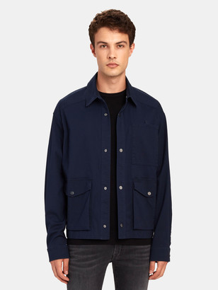 ATM Anthony Thomas Melillo Stretch Cotton Utility Jacket