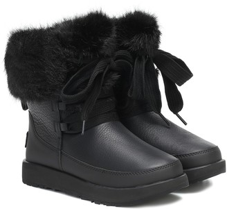 UGG Gracie leather ankle boots