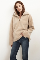 Rika Reversible Lux Sherpa Pullover