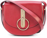 Nina Ricci small saddle clutch - women - Leather - One Size