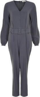 Nümph Ombre Blue Numarianna CR V Neck Jumpsuit - 7519610 - Polyester / viscose / elastane | 34