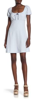 Abound Short Sleeve Knit Babydoll Mini Dress