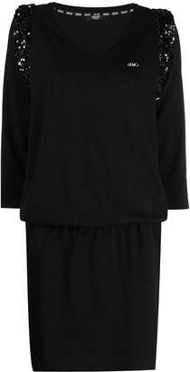 Liu Jo Sequined Mini Dress