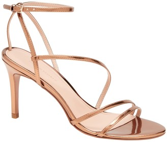 Banana Republic Metallic Strappy High-Heel Sandal