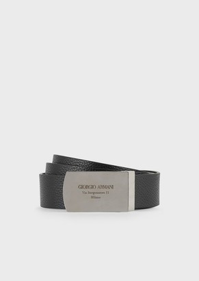 Giorgio Armani Leather Reversible Belt
