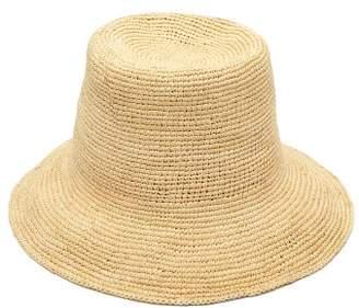 Greenpacha Ipanema Toquilla-straw Bucket Hat - Womens - Beige