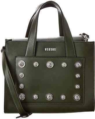 Versace Versus By Leather Shoulder Bag