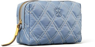 Tory Burch Perry Nylon Mixed Stitch Small Cosmetic Case