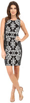 NYDJ Candice Textured Printed Shift Dress