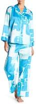 Natori Great Wall Shirt & Pant Pajama Set