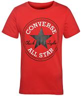 Converse Boys' Chuck Patch T-Shirt, Red