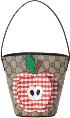 Gucci Children's bucket bag with apple