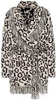 Alanui Macula cotton jacquard cardigan