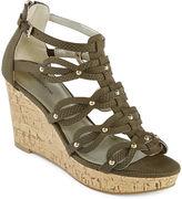 Liz Claiborne Karmin Wedge Sandals