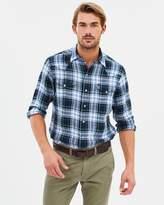 Polo Ralph Lauren Long Sleeve Linen Western Shirt