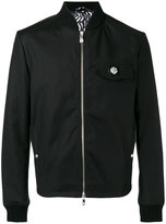 Versus logo bomber jacket - men - Cotton/Spandex/Elastane/Cupro/Viscose - 46