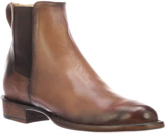 Lucchese Men's Grayson Burnished Leather Chelsea Boots