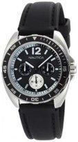 Nautica Men's N09910G Sport Ring Multifunction Black Box Set Watch