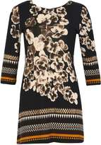Izabel London **Izabel London Navy Floral Dress
