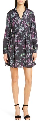 Ted Baker Duclin Fortune Long Sleeve Mini Dress